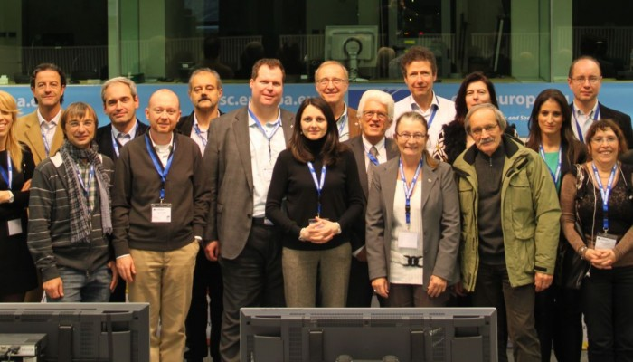 The Executive Committee of Eurocadres elected in November 2013.